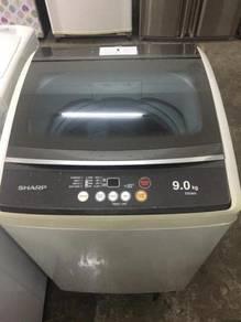 9kg Sharp Mesin Basuh Refurbished automatic