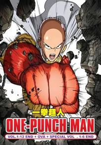 DVD ANIME One Punch Man Vol.1-12 + OVA + Special