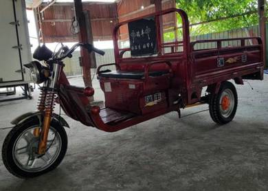 (NEW) Three Wheeler Cargo Bicycle With Batteries