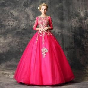 Pink Wedding Bridal Ball Prom Dress RBMWD0109