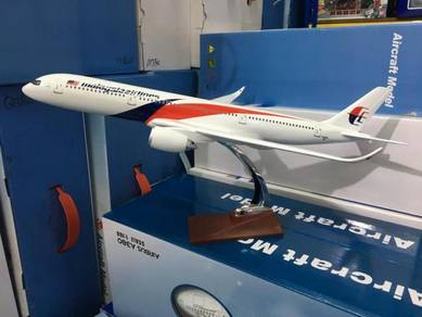 45cm MAS Airbus 350 Malaysia Airlines A350 Model