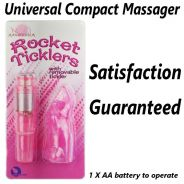 Compact Massager 1 X AA Battery(not included)