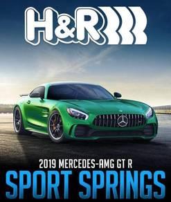 Mercedes AMG GTR H&R lowering coil spring
