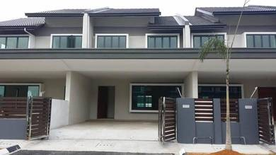 [ extra land 30ft ] corner lot available , 22x75 4b4b Bangi