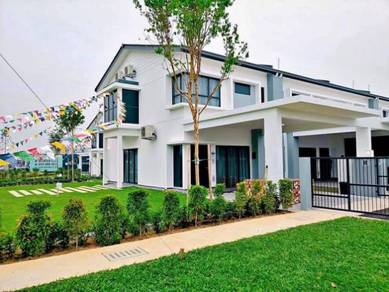 COMPLETED 2 Storey French Concept Garden Home with Private Garden
