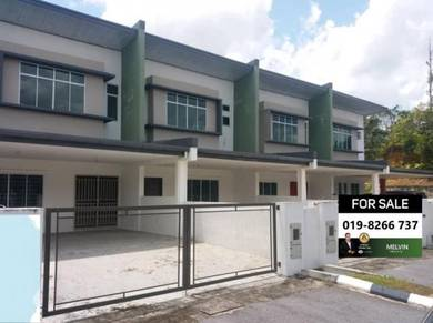 New Double Storey Intermediate Terrace House At Batu 15 Taman Sinaran