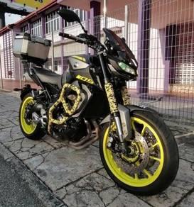 Yamaha mt09 mt-09 mt 09 abs 2018/2018