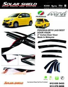 Perodua Myvi Mugen Door Visor