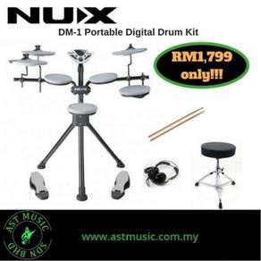 Nux DM-1 dm1 Portabe Digital Drum Kit (promo 1)