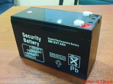 12v 7ah Backup Battery