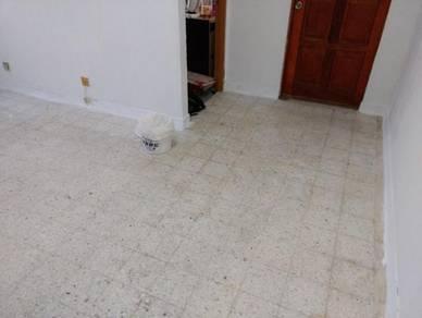 Vinyl Floor Lantai Timber Laminate PVC Floor Q572
