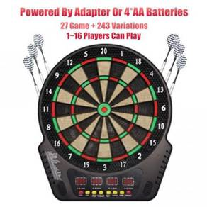 18 Inch Electronic Dartboard 27 Game + 16 Players