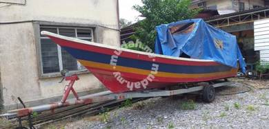 Boat Traller Yamaha outboard 60Hp