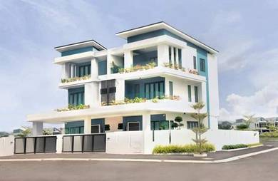 Luxury 3 Storey Cluster SemiD Guarded Community