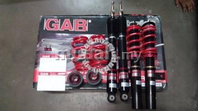 Gab adjustable ss series volkswagen golf mk5 mk6