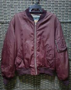 Flight jacket ma-1 BURGH SCOTT REDCHERRY