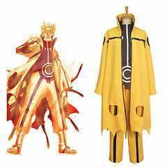 Naruto kyuubi nine tail mode cosplay costume