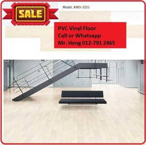 Wood Look PVC 3MM Vinyl Floor r5y