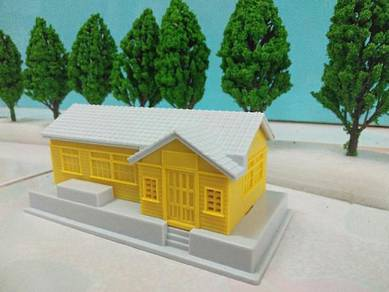 Train station / building model