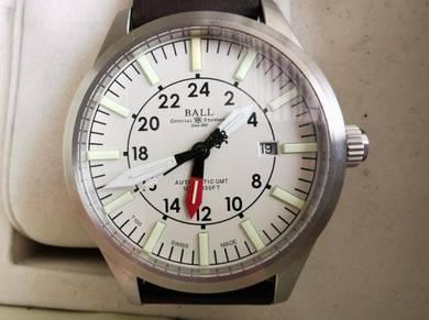 Swiss Made Automatic Watch- Ball Aviator GMT