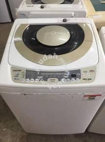 10kg spin washer Toshiba machine washing recond