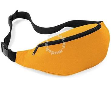 RAX Sports Pouch Travel Waist Jogging Bag (Orange)