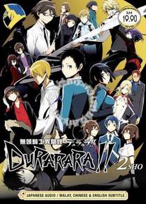 DVD ANIME DURARARA X 2 SHO Season 2 Vol.1-12End