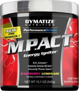 Dymatize m pact pre workout energy strength