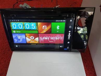 Honda brv oem dvd player with gps mirror link 2