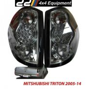 Triton Tail Lamp Light LED Smoke black 4WD 4X4