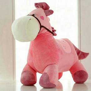 Horse soft toy /patung kuda