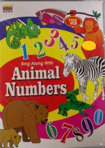 VCD Sing Along With Animal Numbers 1-10 with book