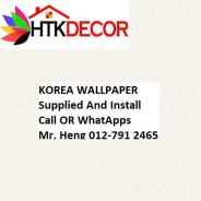 Korea Wall Paper for Your Sweet Home 615BW