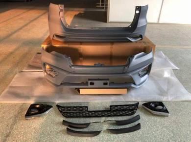 Toyota fortuner 17-18 trd sportivo bodykit bumper