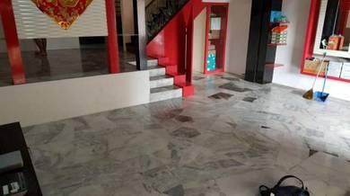 Vinyl Floor Lantai Timber Laminate PVC Floor Q574