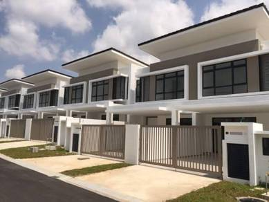 NEW 2 Storey 20x65 Freehold Terrace 0% D/P near Bangi PLUS highway