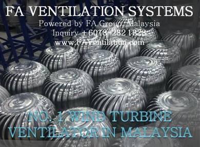 21VC-P FA Wind Turbine Ventilator / Air Vent (US)
