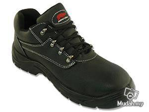 Safety Shoe Rhino Low Cut Lace Up Black TP3100SP