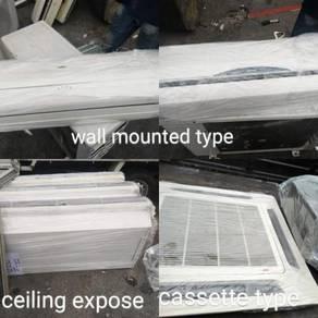 Pelbagai Aircond wall/ceiling/cassette