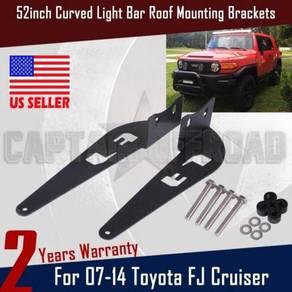 Fj cruiser roof mounting light bar