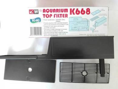 K668 Black Top Filter Box 9.5''x4''x3.5'' (XS) Set