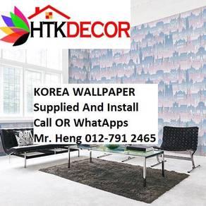 3D Korea WallPaper with Installation 46j64