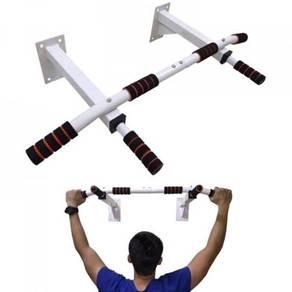 White gym pull up bar 04