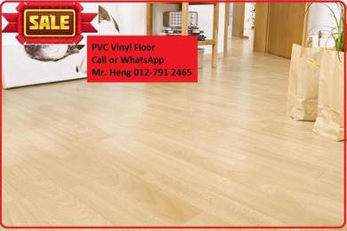 NEW Made Vinyl Floor with Install r5yh