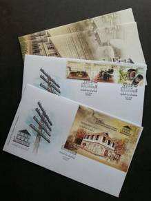 First Day Cover Telegraph Museum Malaysia 2018