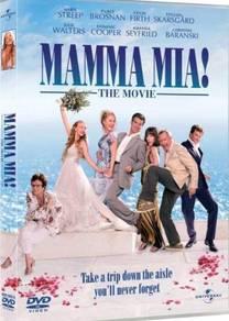 DVD Movie Mamma Mia