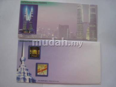 Pek cenderamata Petronas Twin Towers 1999