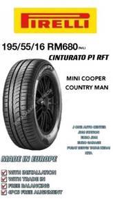 Pirelli 195 55 16 cinturato p7 rft mini cooper one