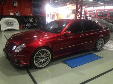 Mercedes W211 facelift AMG E63 style CONVERSION