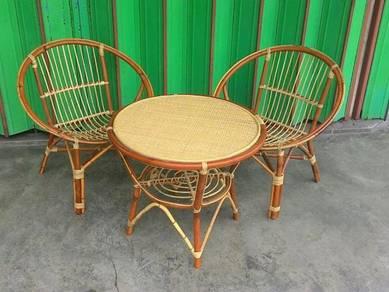 Rattan Chair Set